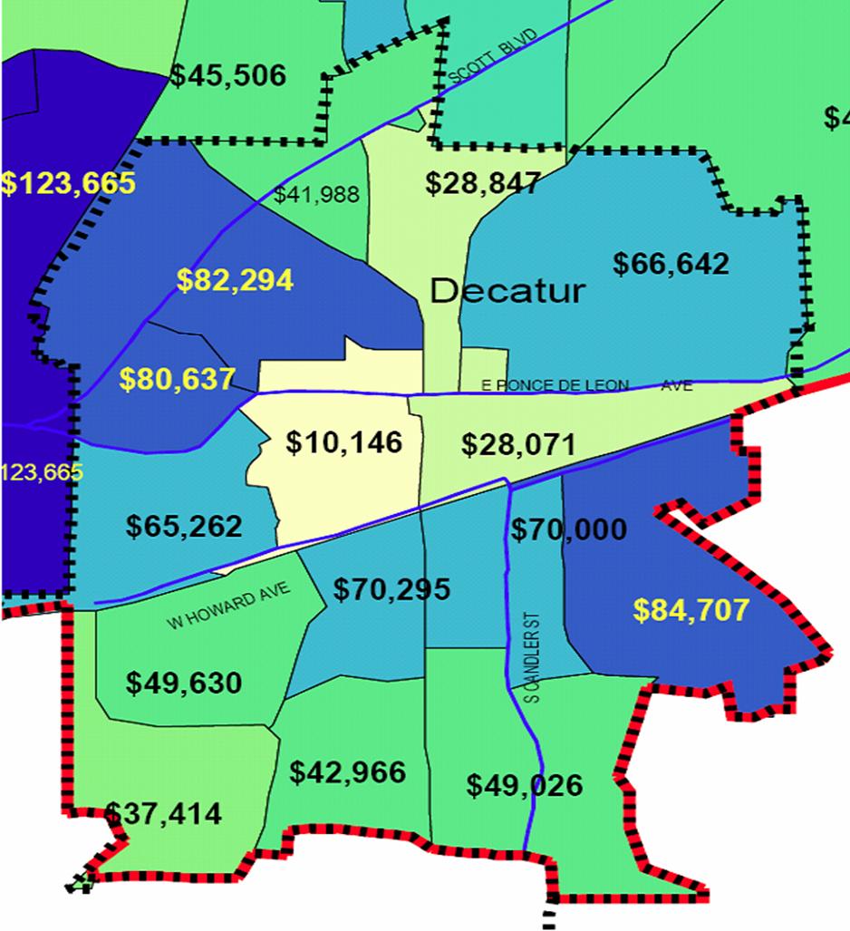 Winonna Park is Decaturs Wealthiest Neighborhood Decatur Metro