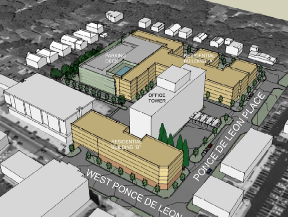 315 w ponce aka decatur court plans and studies now for Site plans online